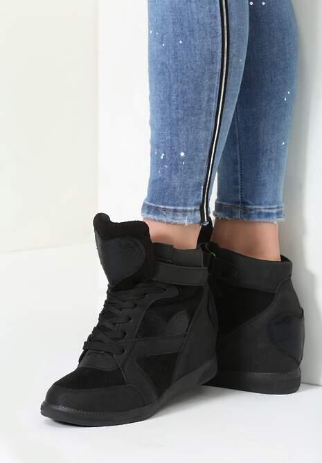 Czarne Sneakersy Be the One