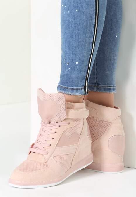 Różowe Sneakersy Be the One