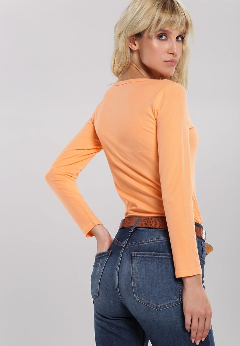 Pomarańczowa Bluzka Make Off