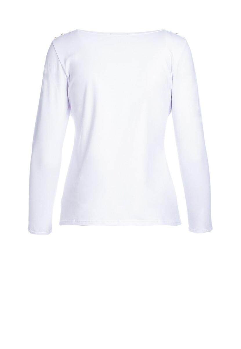 Biała Bluzka Hey Girl
