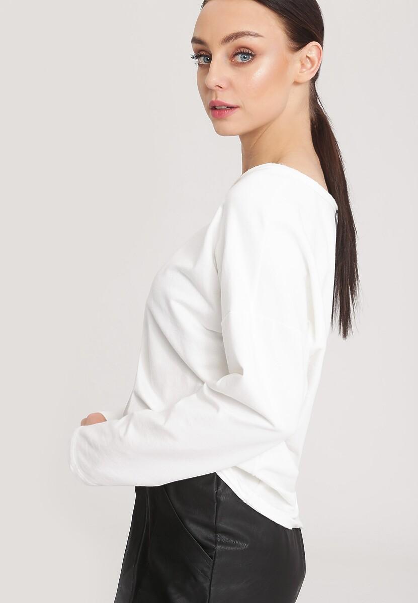 Biała Bluzka Angle Star