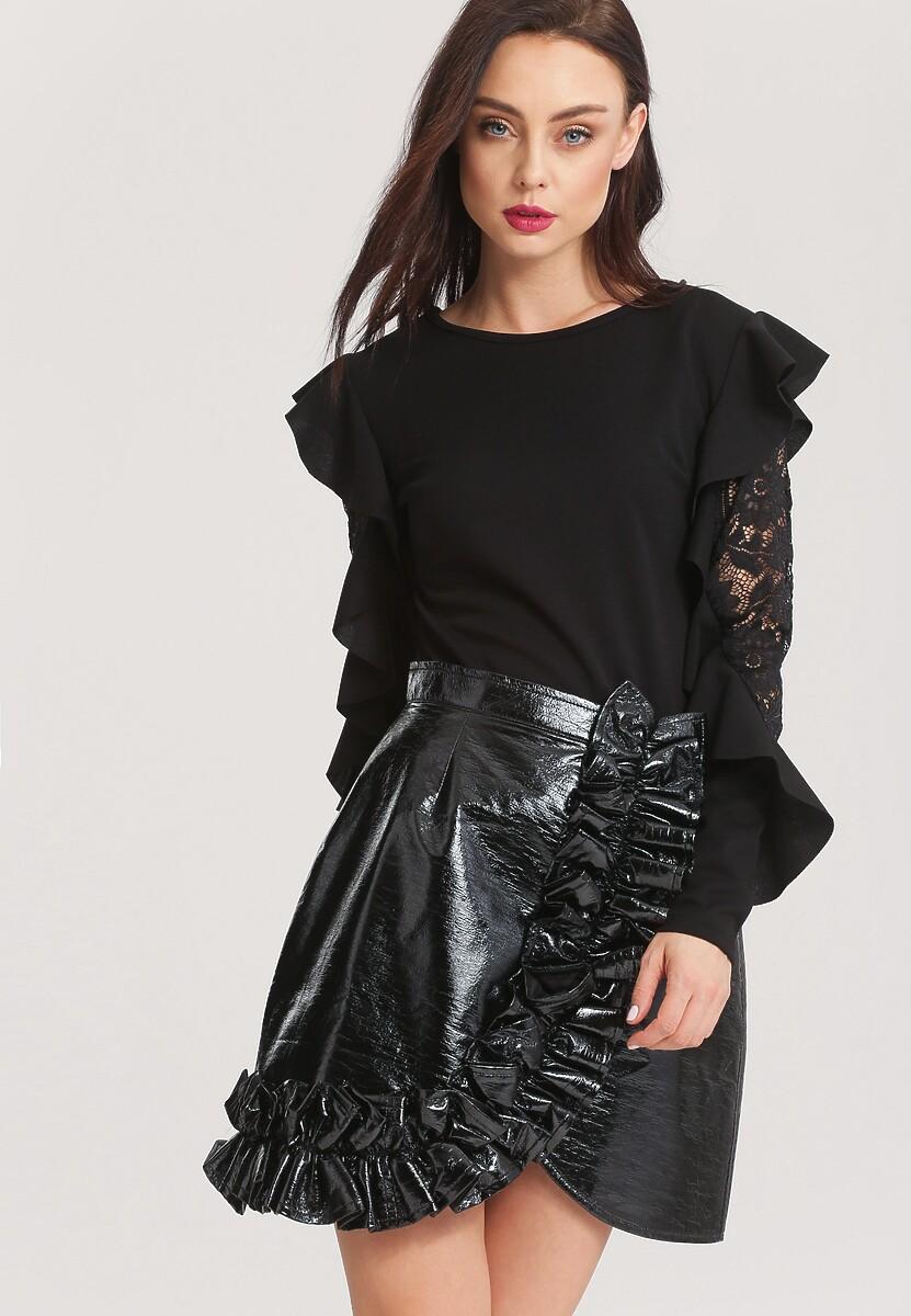 Czarna Bluzka Dolce Rosa