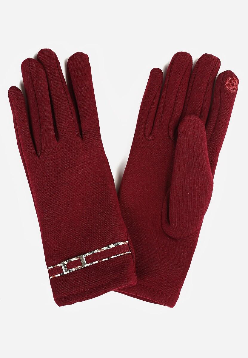 Bordowe Rękawiczki Benevolence