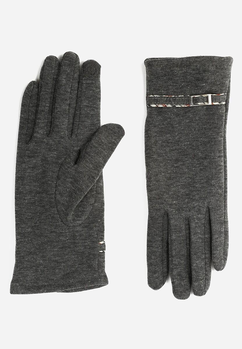 Ciemnoszare Rękawiczki Benevolence