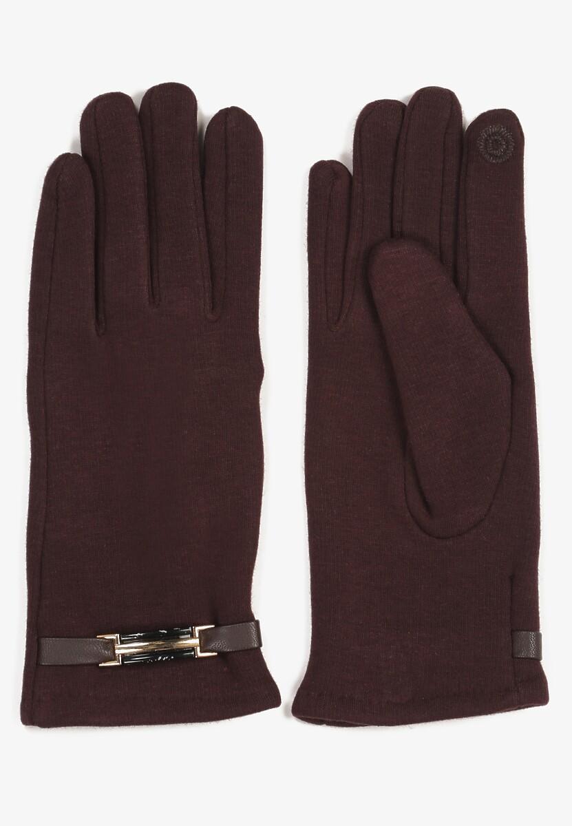 Brązowe Rękawiczki Calitea
