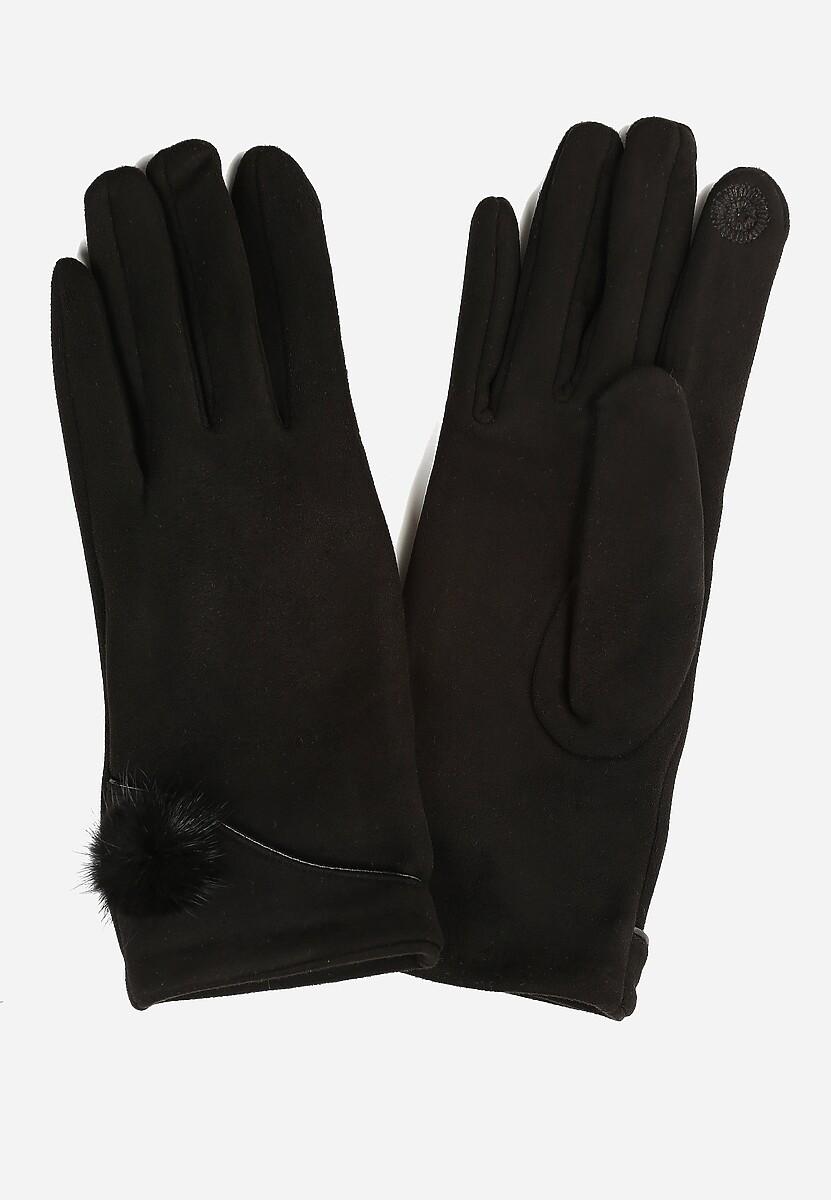 Czarne Rękawiczki Observant