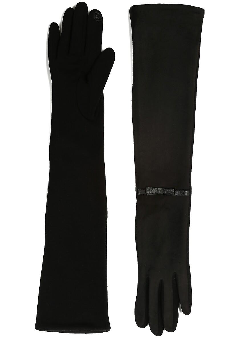 Czarne Rękawiczki Frozen