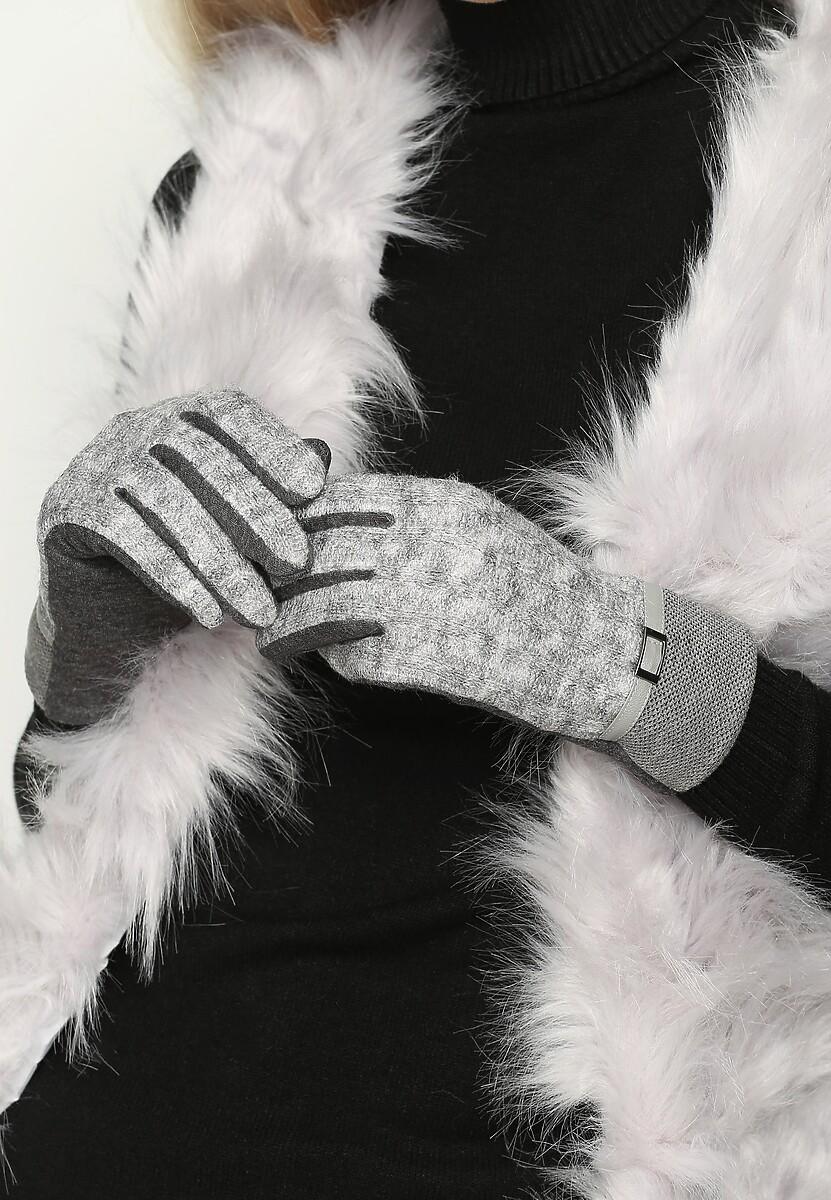 Ciemnoszare Rękawiczki Until Dawn