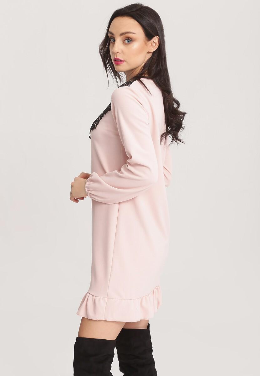 Różowa Sukienka Here I Am