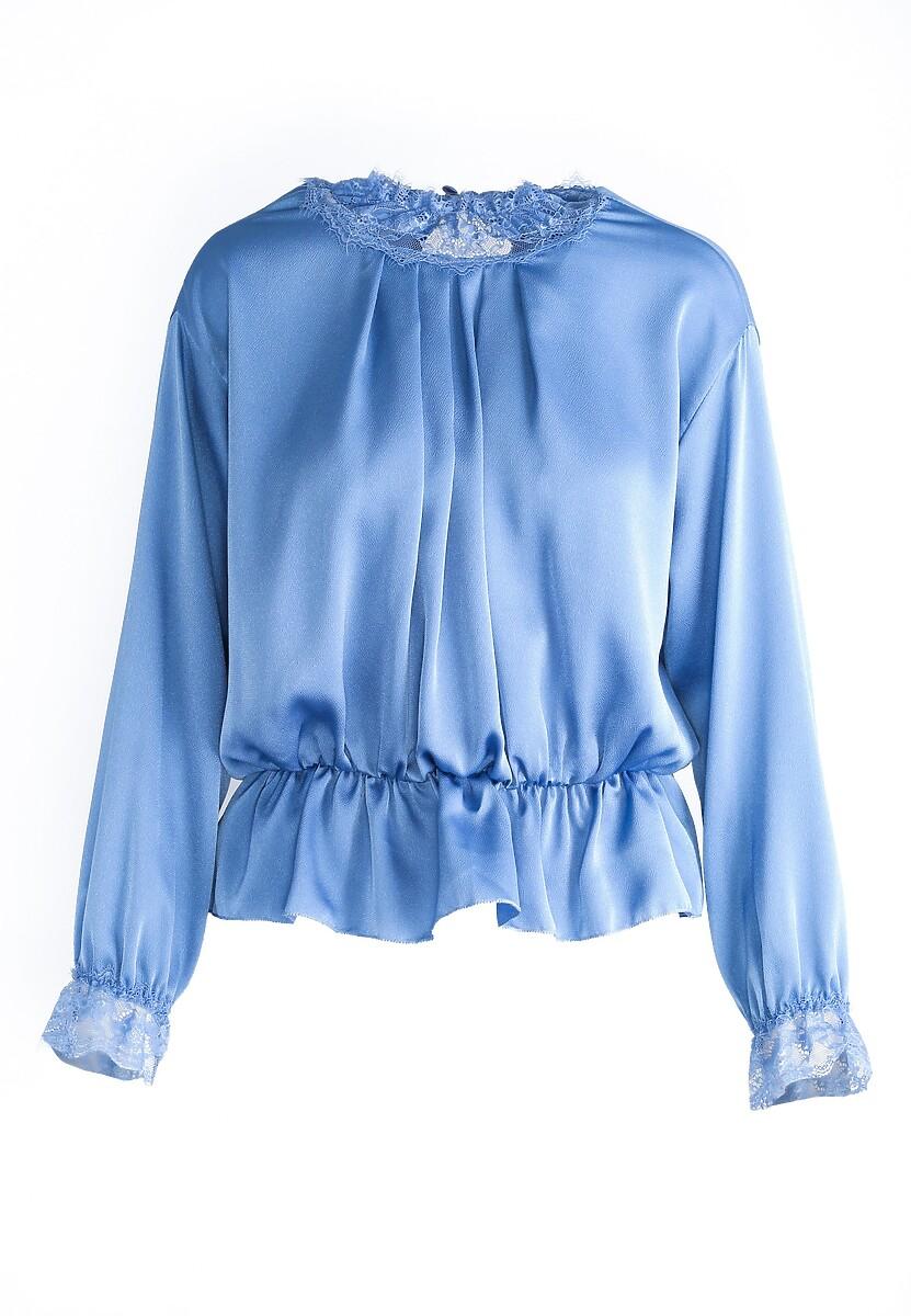 Niebieska Bluzka Revolution