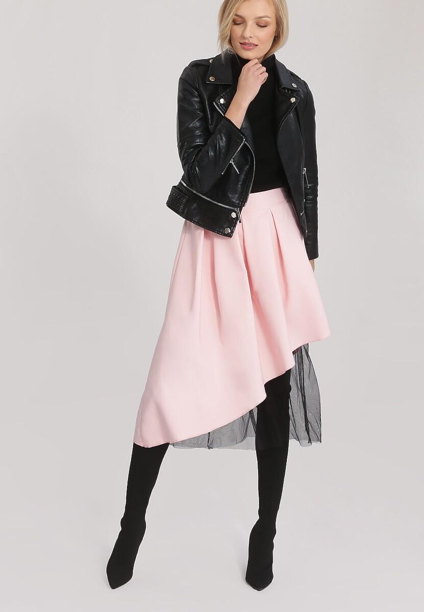 Różowa Spódnica Door To Door