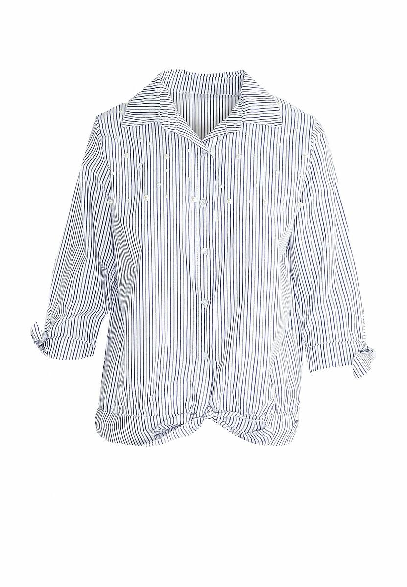 Granatowa Koszula I Can Make It