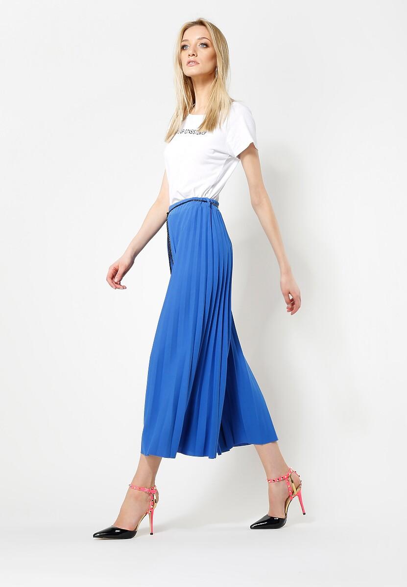Niebieskie Spodnie Power Girl