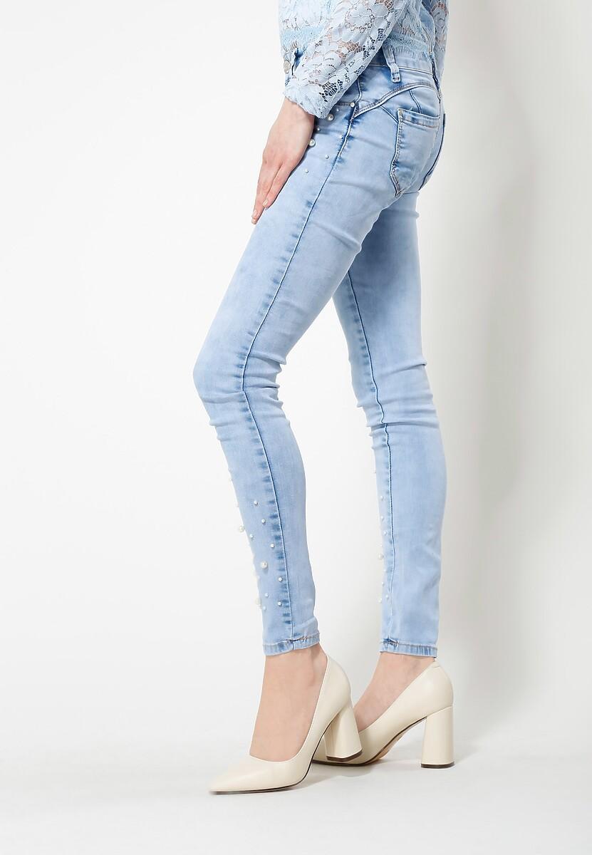 Niebieskie Jeansy Mannequin