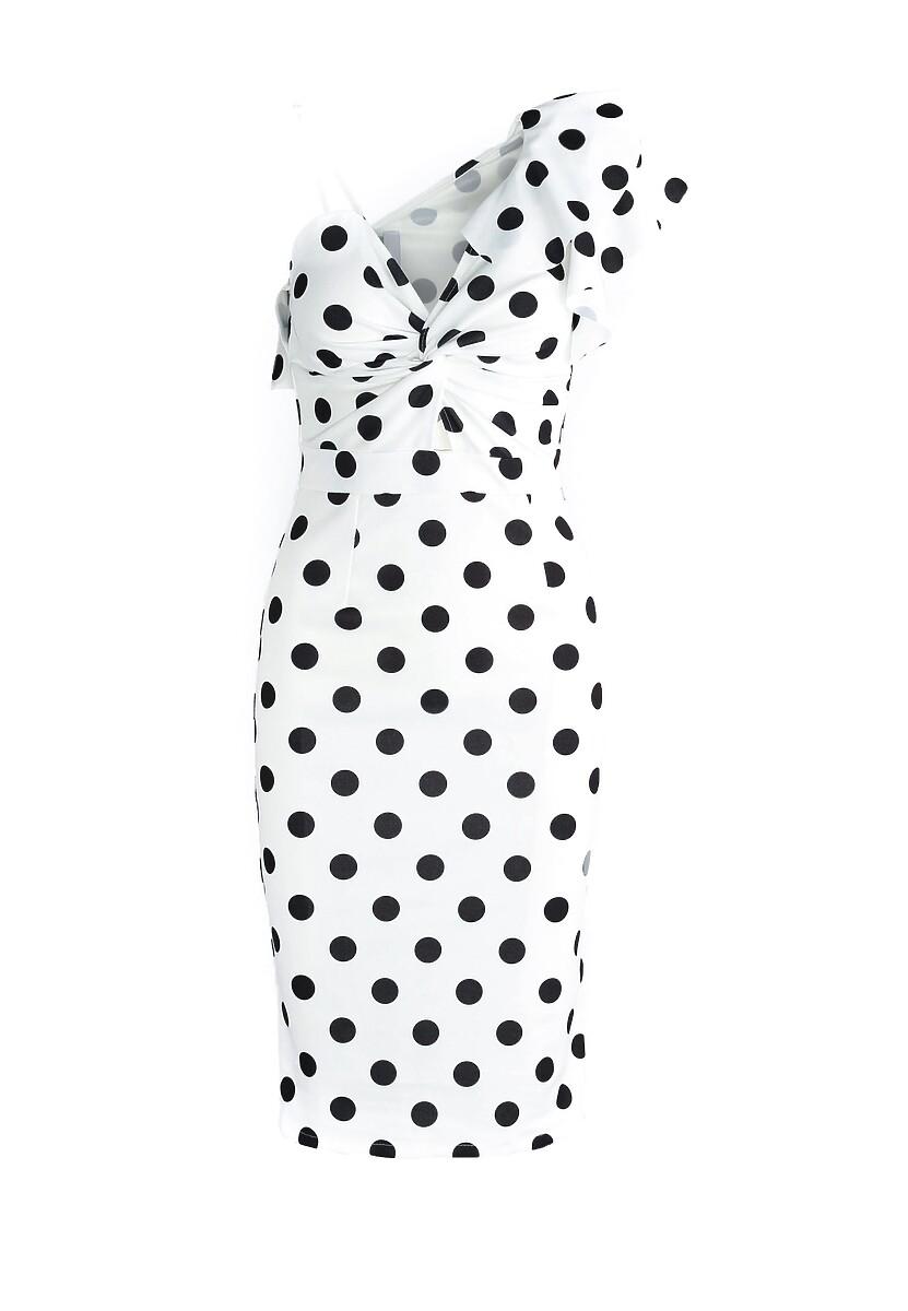 Biała Sukienka Goody