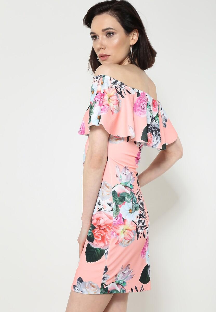 Łososiowa Sukienka One's For You