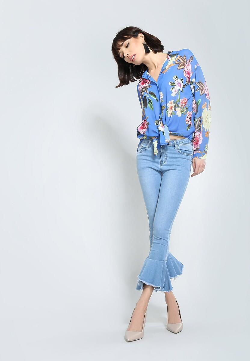 Niebieska Koszula Perfect Mood