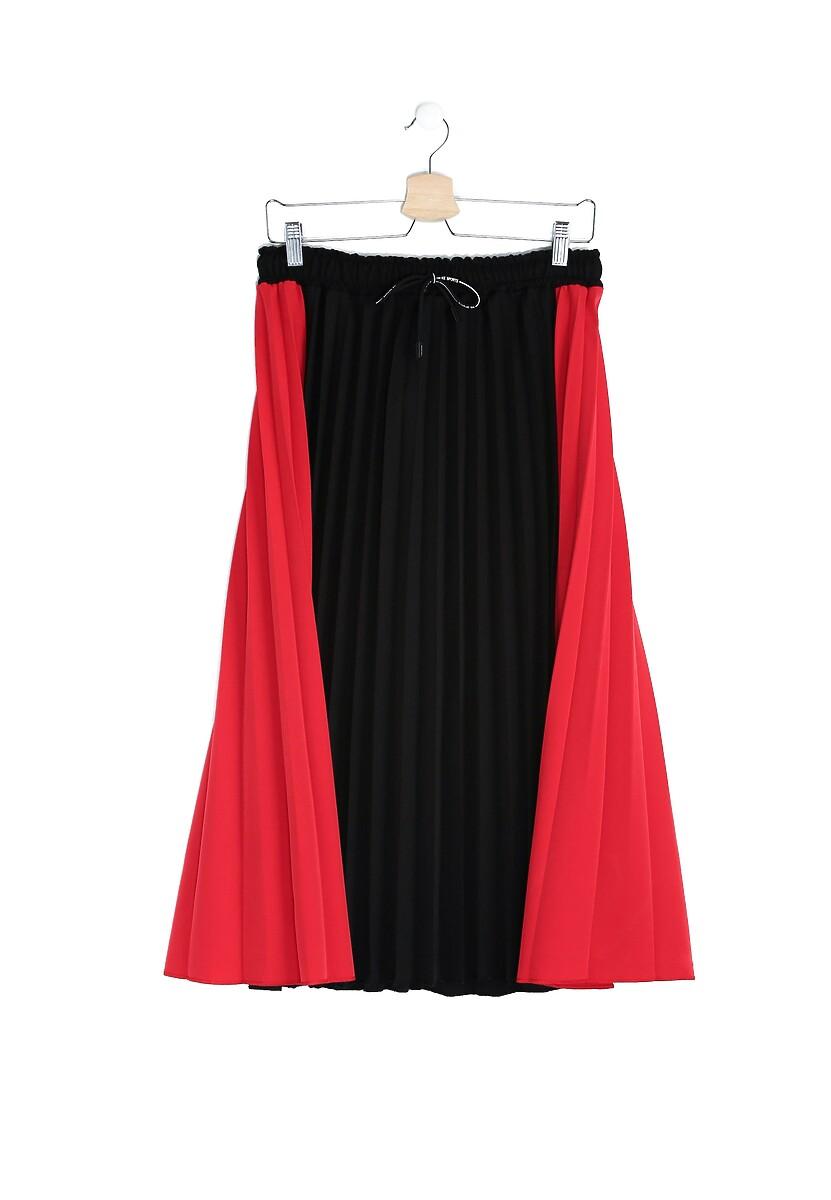 Czarno-Czerwona Spódnica The Chronic