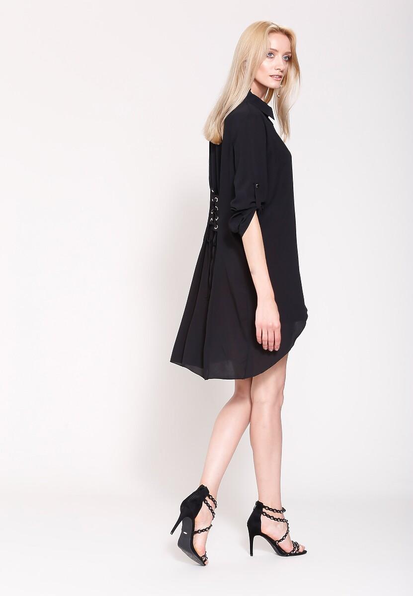Czarna Koszula Always Fashionable