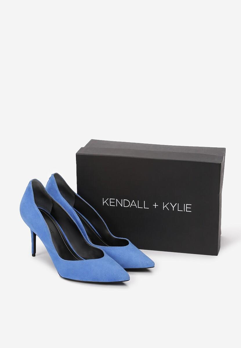 Niebieskie Szpilki Kendall + Kylie Rivet