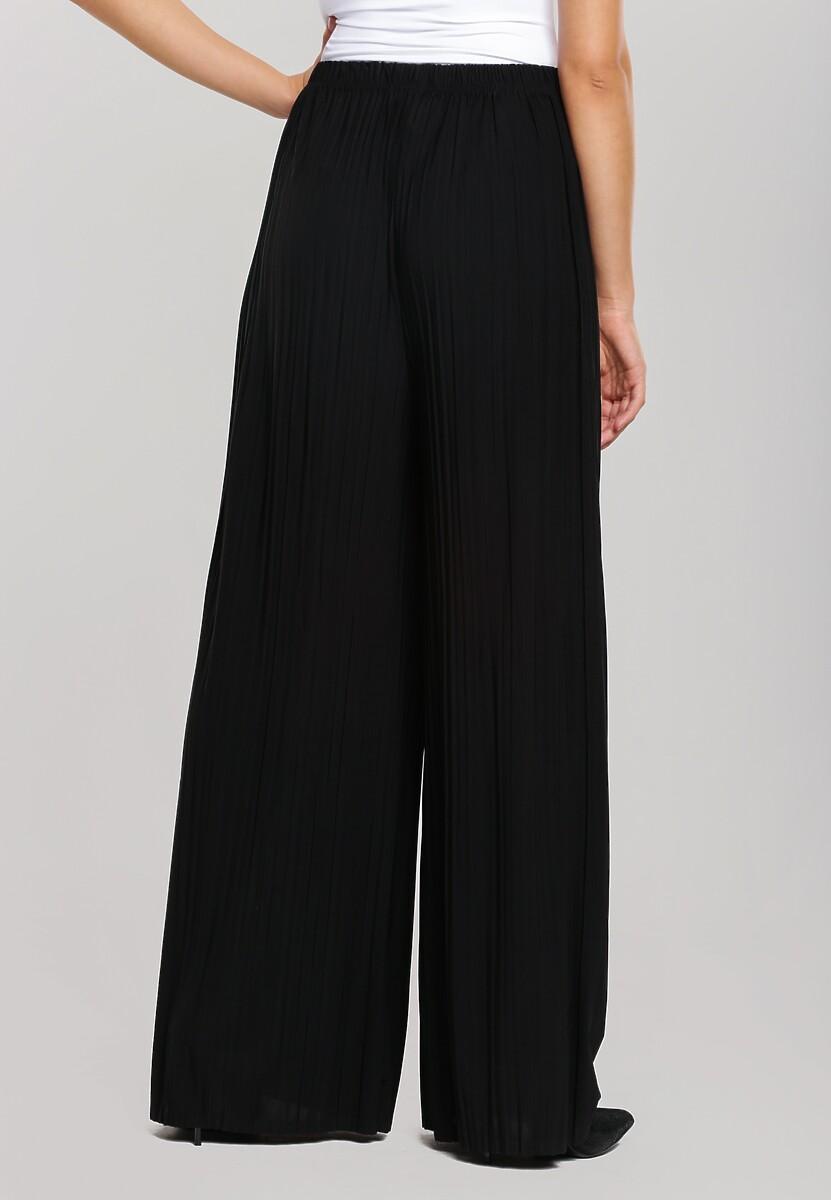 Czarne Spodnie Right on Time