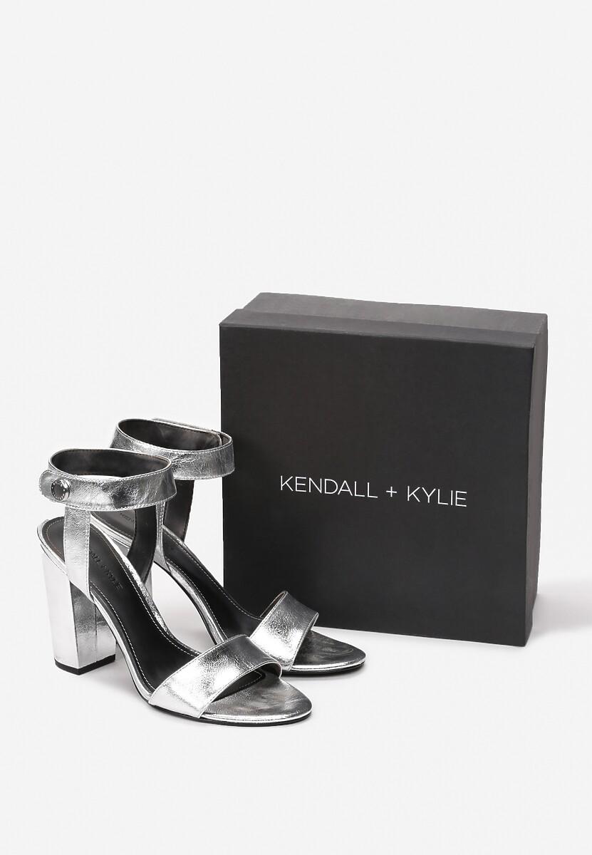 Srebrne Sandały Kendall + Kylie Bright And Comfy