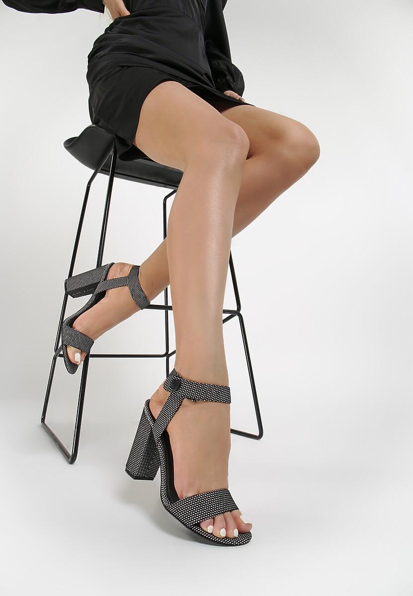 Czarno-Białe Sandały Kendall + Kylie Bright And Comfy Kod produktu: 63769