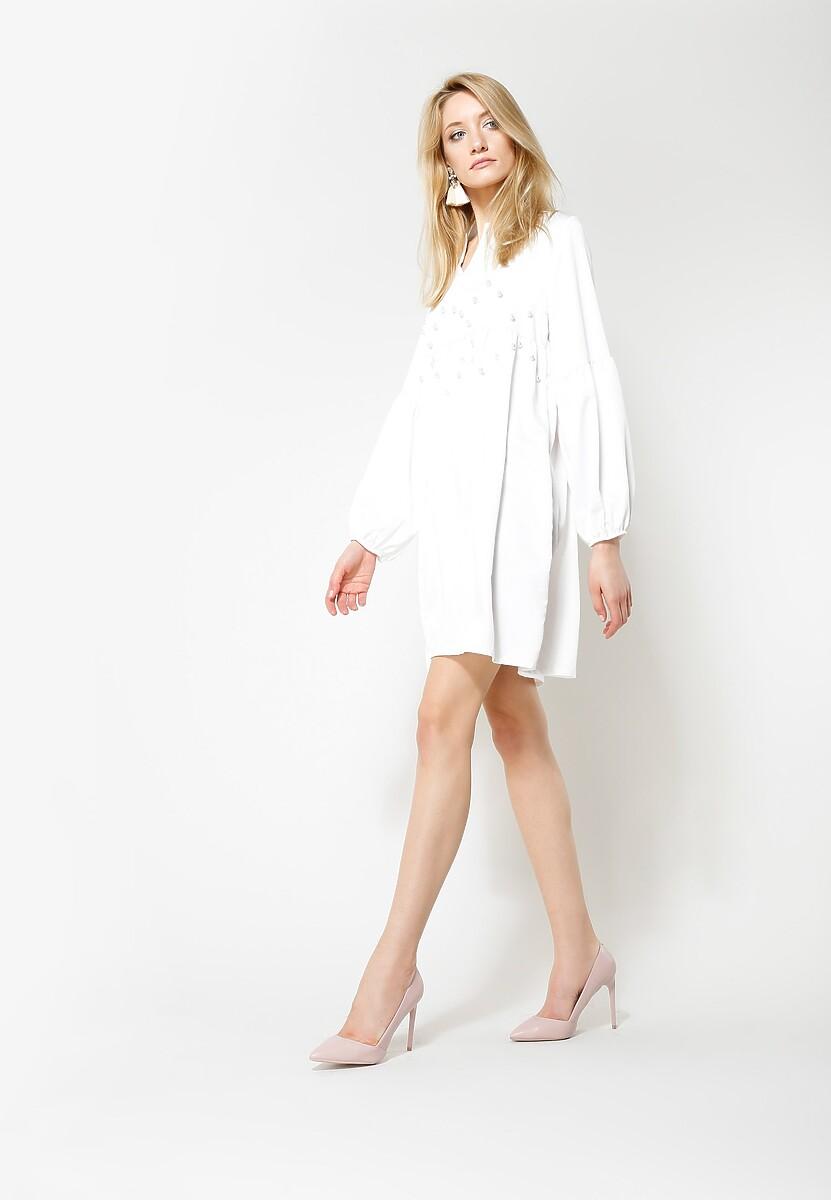 Biała Sukienka Pendulum
