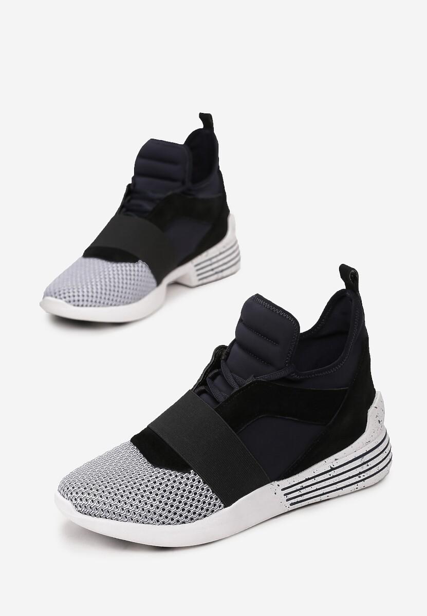 Czarne Sneakersy Kendall + Kylie Streetwear