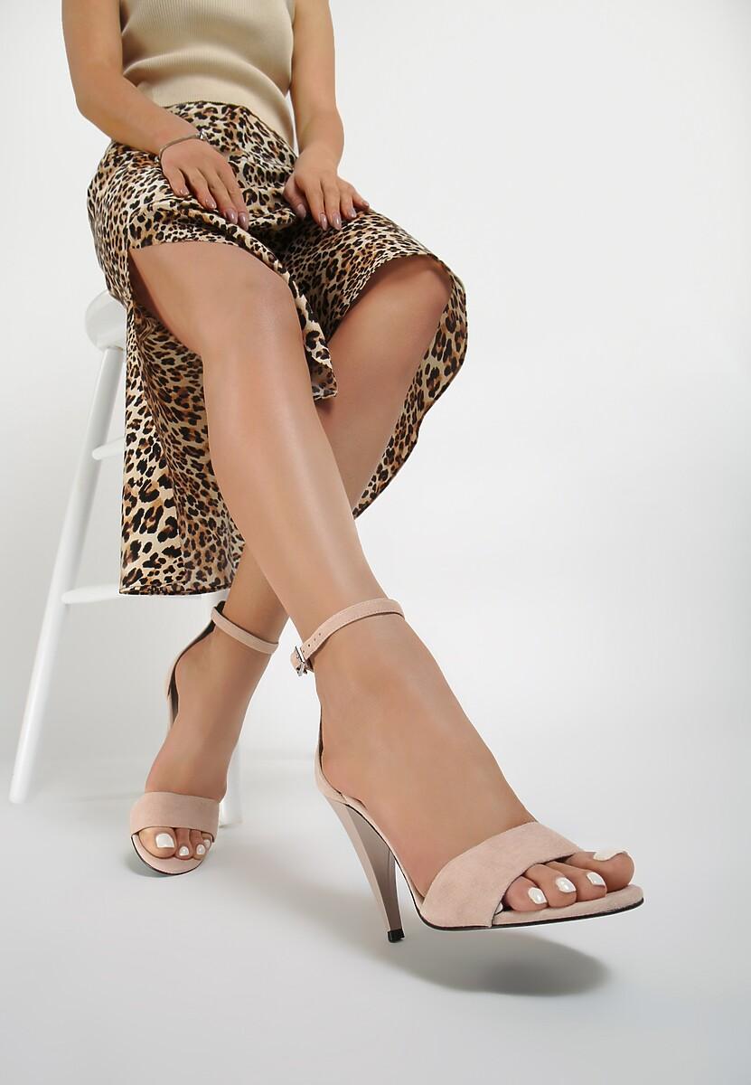 Różowe Sandały Kendall + Kylie Pyramidal Kod produktu: 41048