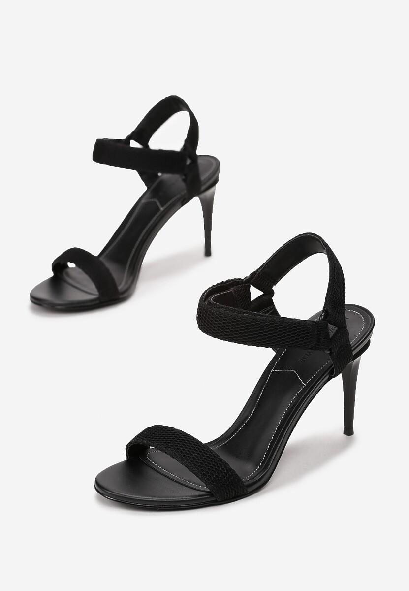 Czarne Sandały Kendall + Kylie Casual