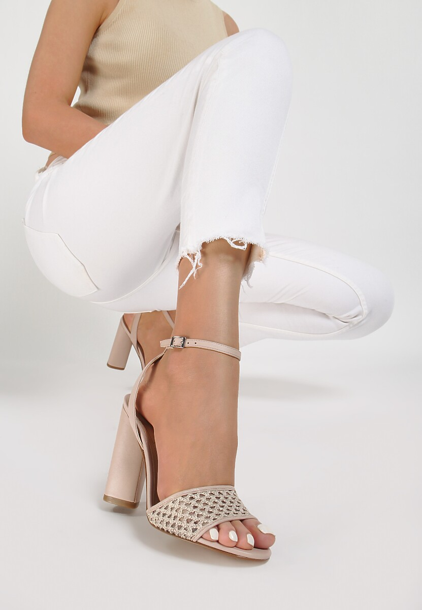 Beżowe Sandały Kendall + Kylie Wreathe Kod produktu: 40884