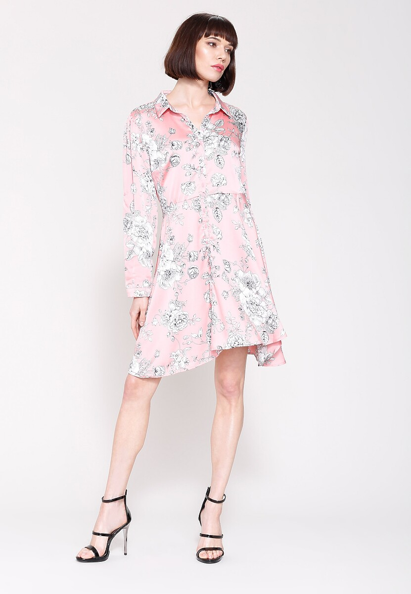 Różowa Sukienka Princes Lily