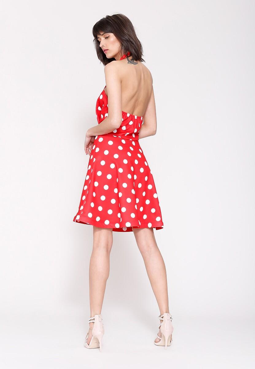 Czerwona Sukienka Crazy Me
