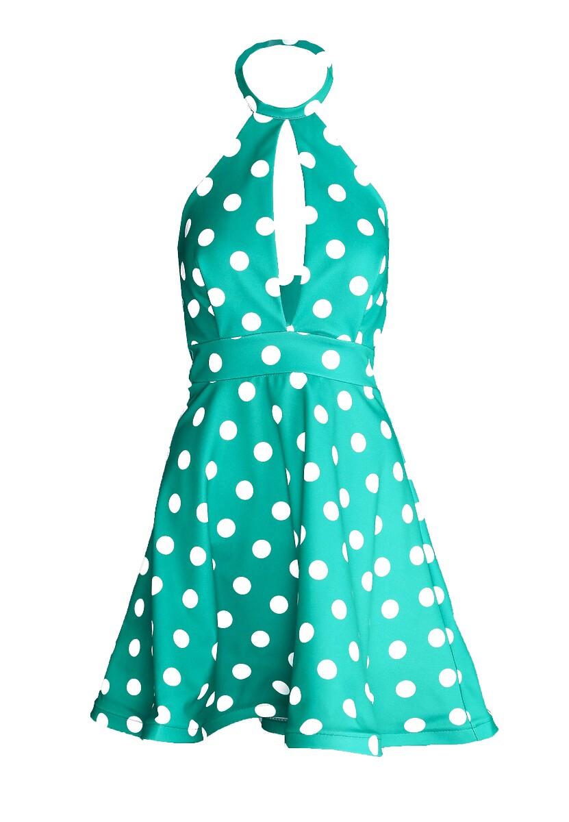 Zielona Sukienka Crazy Me