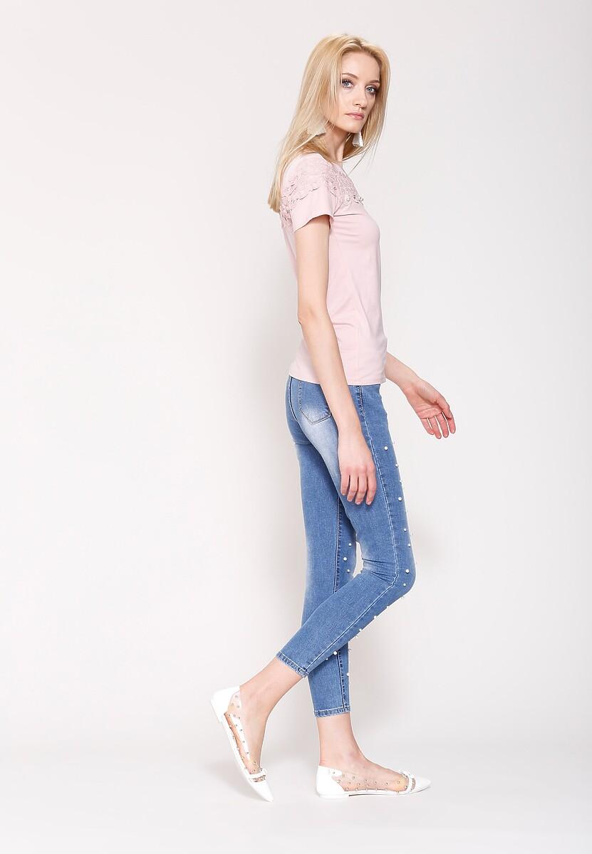Niebieskie Jeansy Beauty Mark