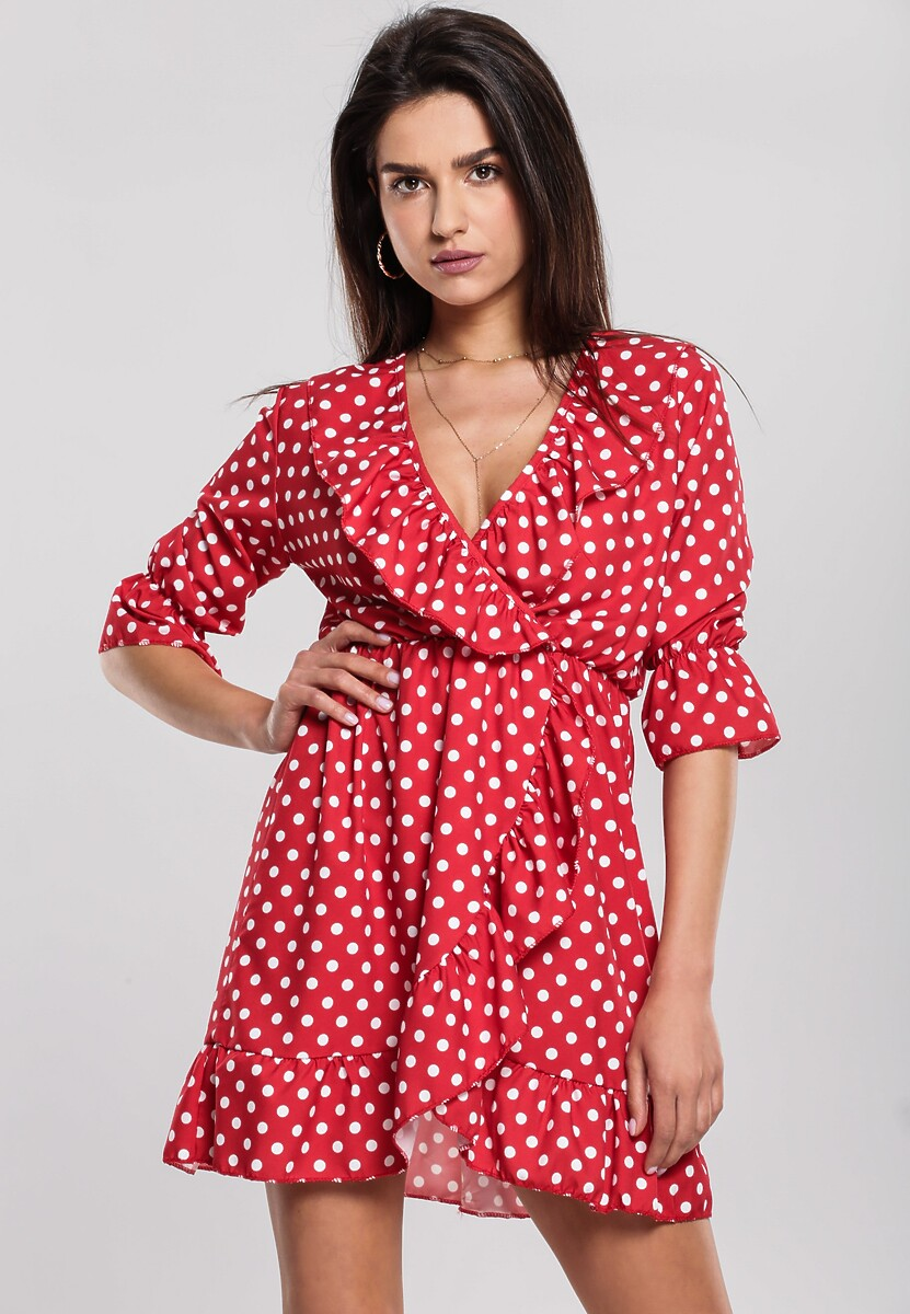 Czerwona Sukienka Resinate