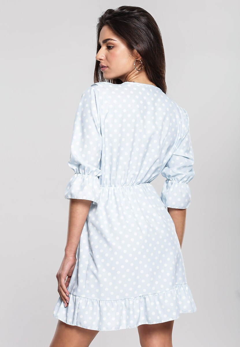 Niebieska Sukienka Resinate