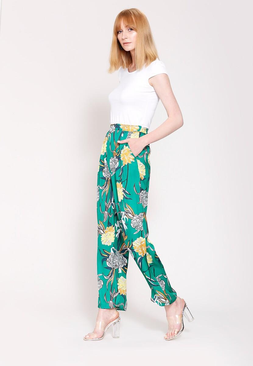 Zielone Spodnie Ready For Anything