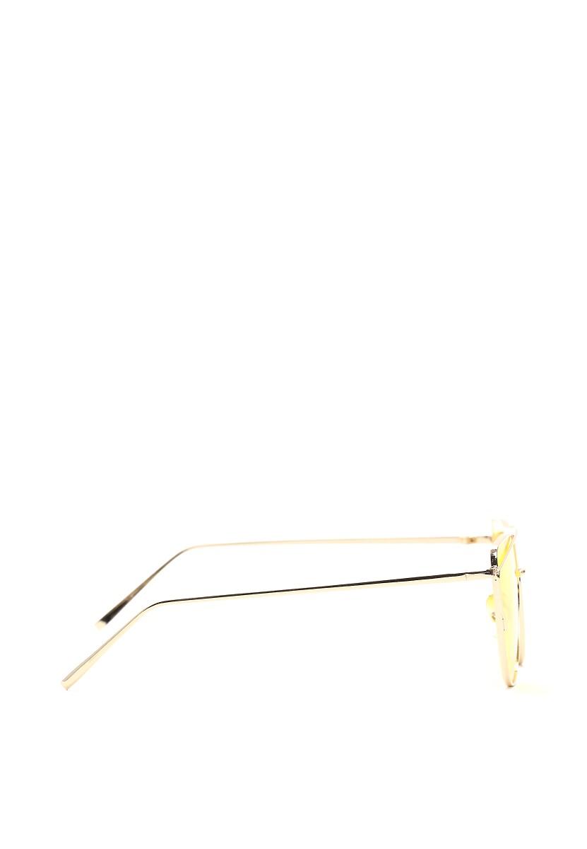 Złoto-żółte Okulary Pudding