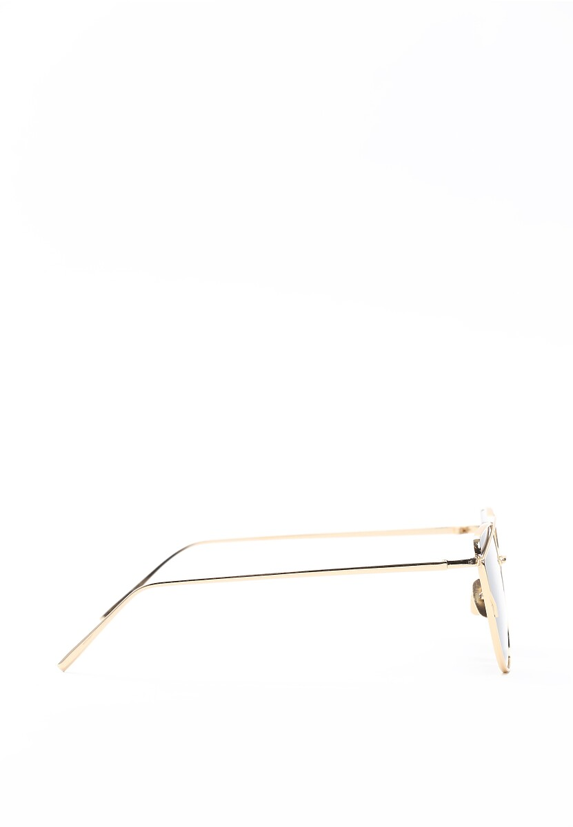 Złoto-czarne Okulary Pudding