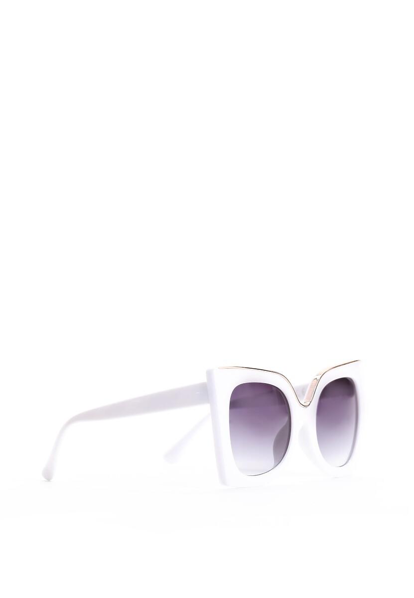 Czarno-Białe Okulary Almost Unreal