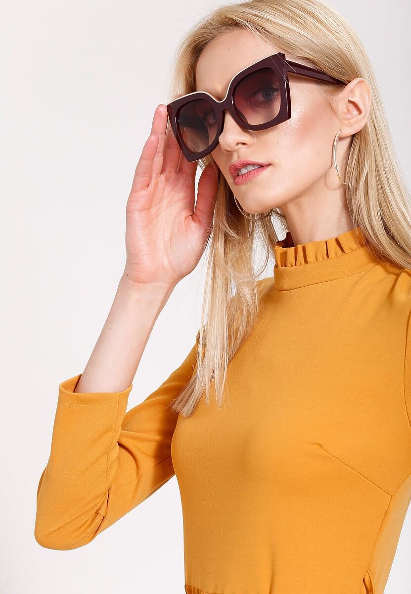 Bordowe Okulary Almost Unreal