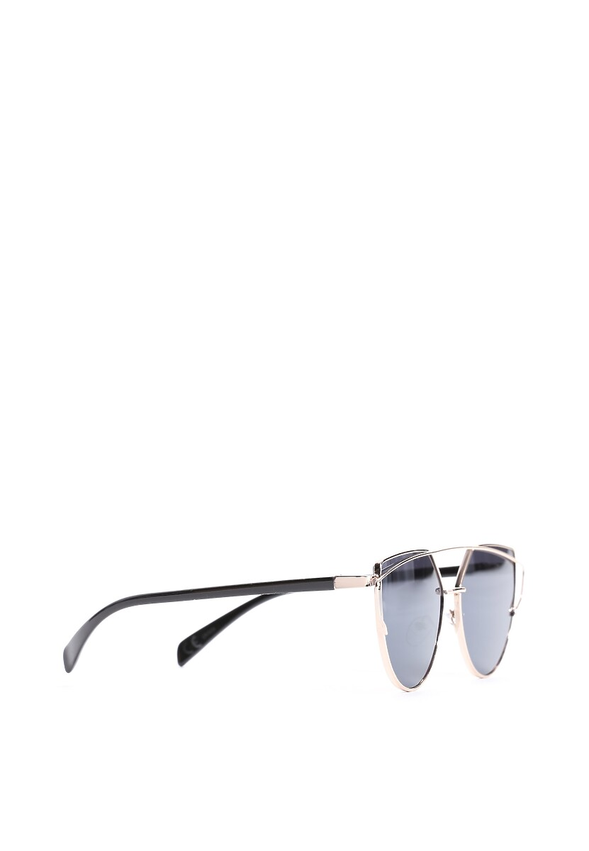 Złoto-Czarne Okulary After All