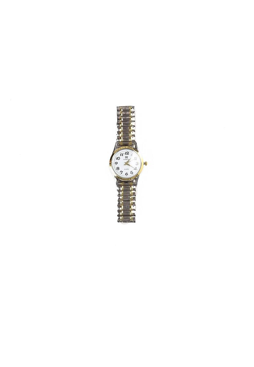 Srebrno-Złoty Zegarek Overtake Your Life