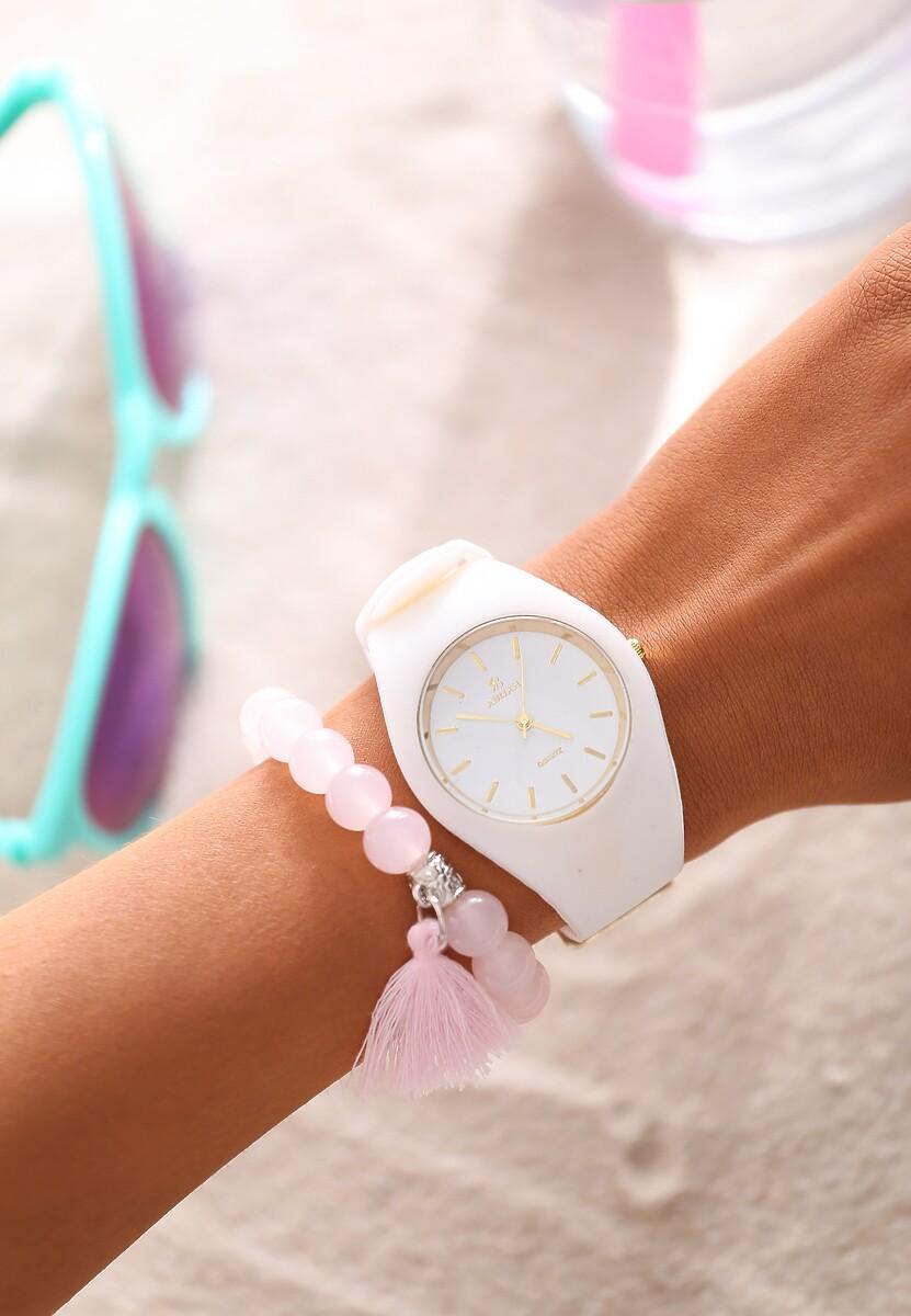 Biały Zegarek Compliments