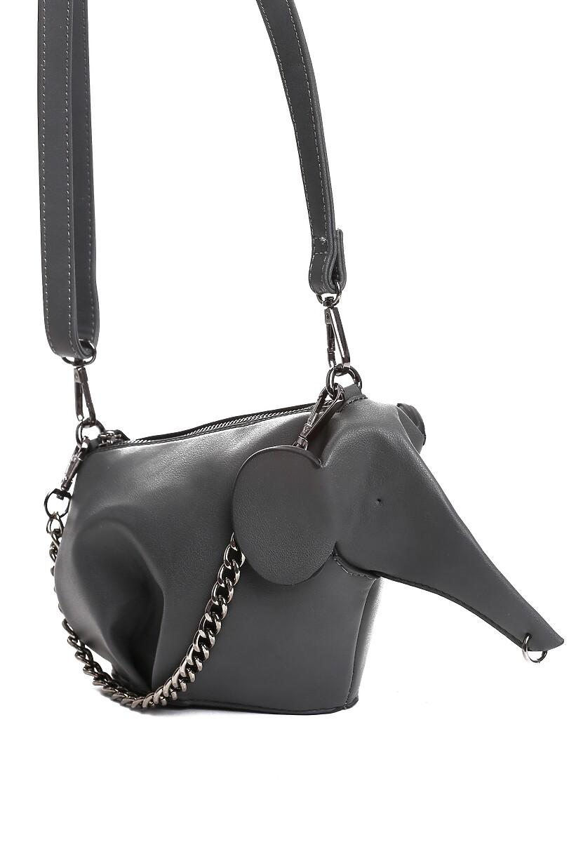 Ciemnoszara Torebka Elephant