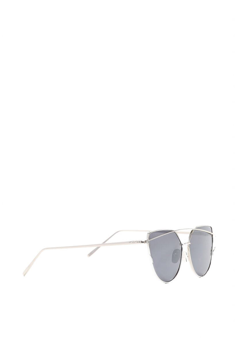 Srebrno-Czarne Okulary After All