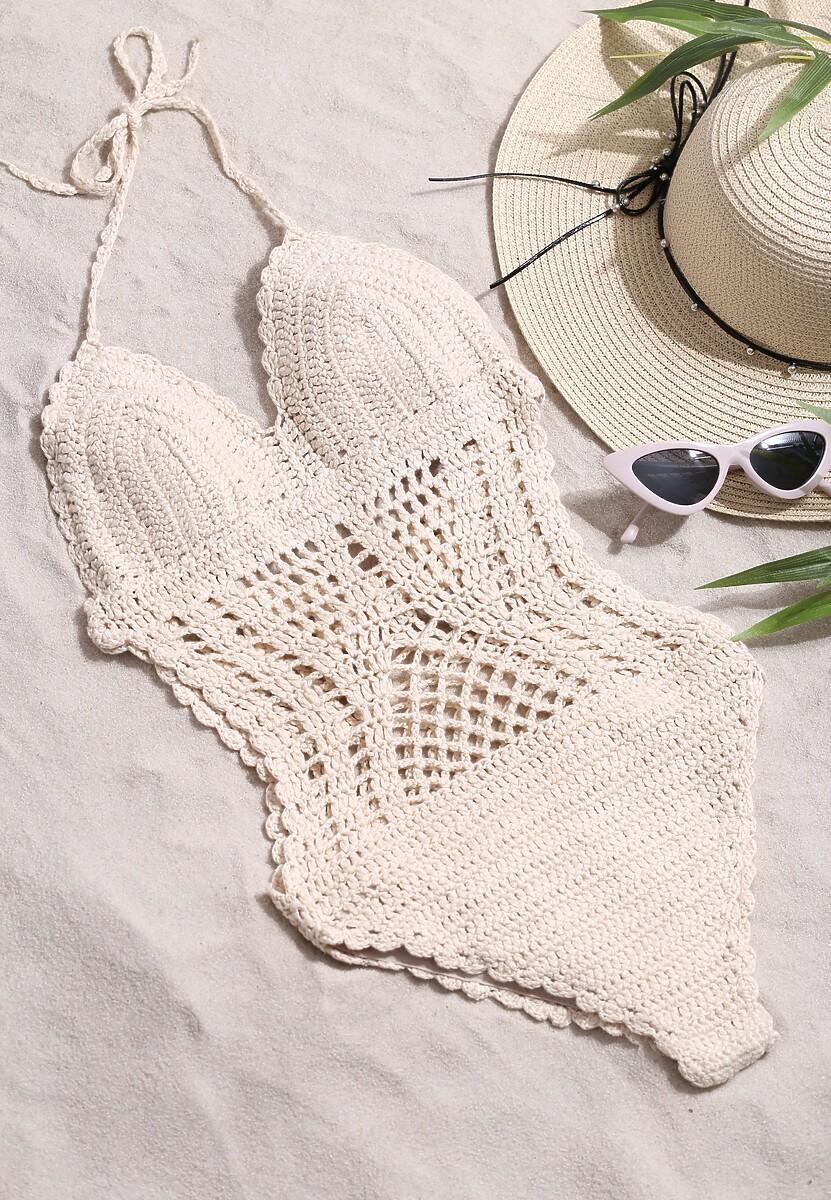 Beżowy Strój Kąpielowy Summer Day