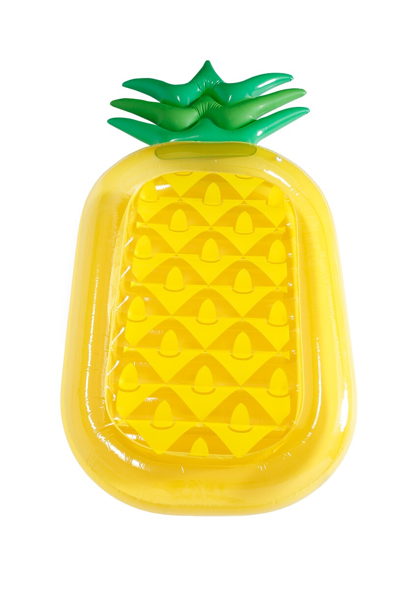 Żółty Materac Exotic Pineapple